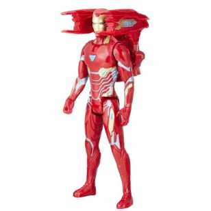 AVENGERS INFINITY TITAN HERO POWER IRON MAN FİGÜR